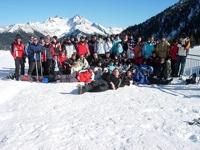 alle Teilnehmer der Skifreizeit
