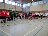Alle Siegerteams und der Schulleiter