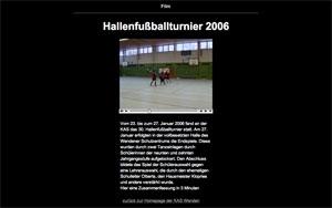 Hallenfußball Film