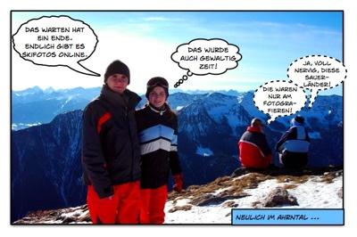 Ski Fotos endlich