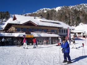 Die Bergstation.