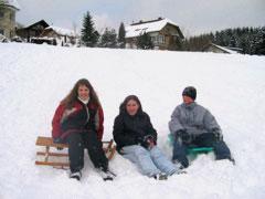 Marie, Esra und Philipp.