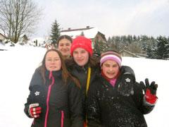 Bianca, Esra und Esra und Ayse .