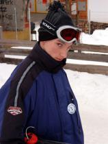 Nicht alle sind froh, dass wir Ski fahren.