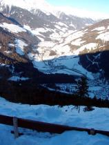 Die schöne Landschaft von Süd-Tirol.