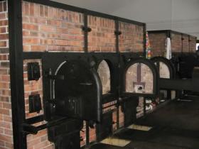 Verbrennungsöfen im Krematorium