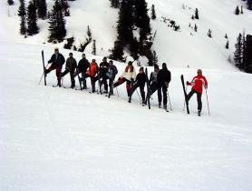 Hoch die Ski