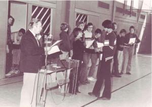 1980 fanden an der KAS die ersten Bundesjugendspiele statt