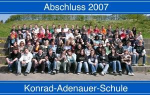 Alle Abgänger 2007