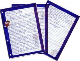Briefe von Marcela, Scann