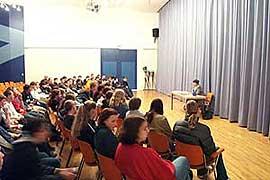 Frau Hassenmüller und das Publikum