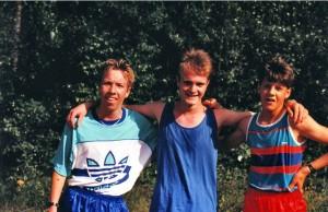 Die drei Sieger der Jungen beim 3. KAS Lauf