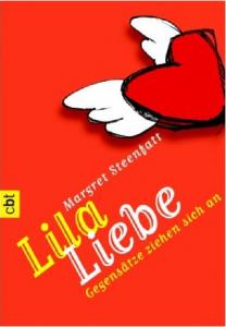 Lila Liebe von Margret Steenfatt, Buchcover