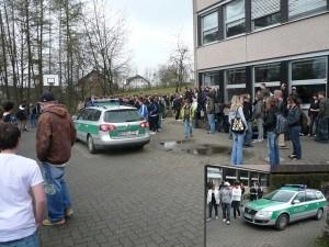Polizeieinsatz an der KAS