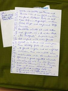 Frau Schoofs Brief im Detail