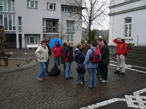 Am Rathaus in Wenden