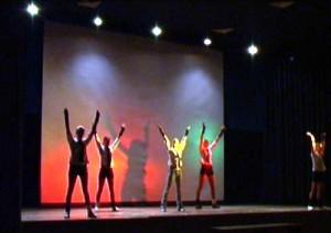 Tanzaufführung 1 der RS