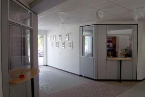 Neuer Eingangsbereich